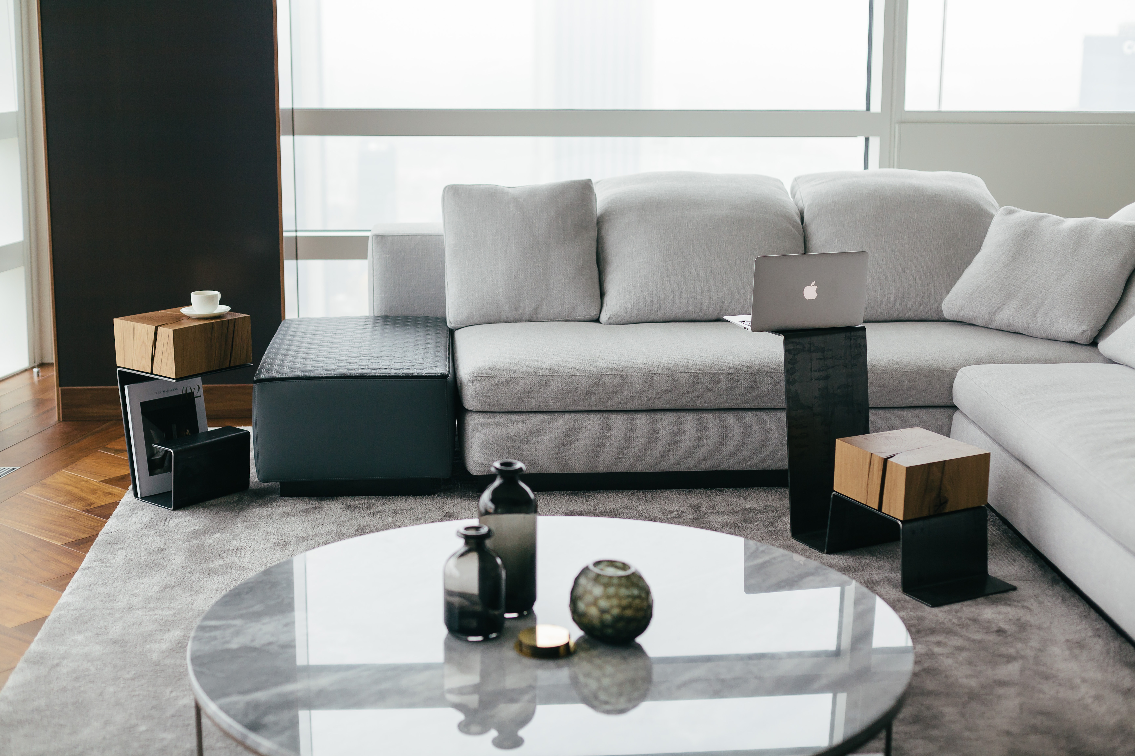 Luxury and modern THE LINE FAMILY furniture collection.