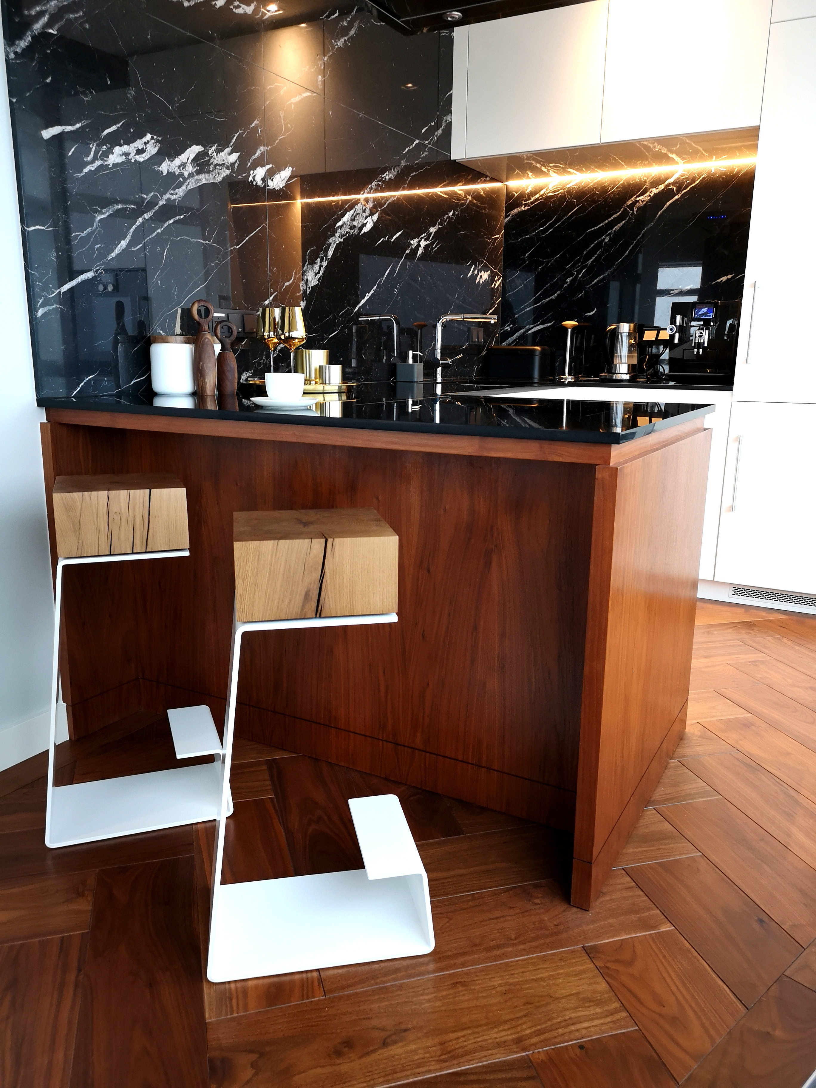 Luxury Bar Stools - Glamour Style Kitchen Inspiration