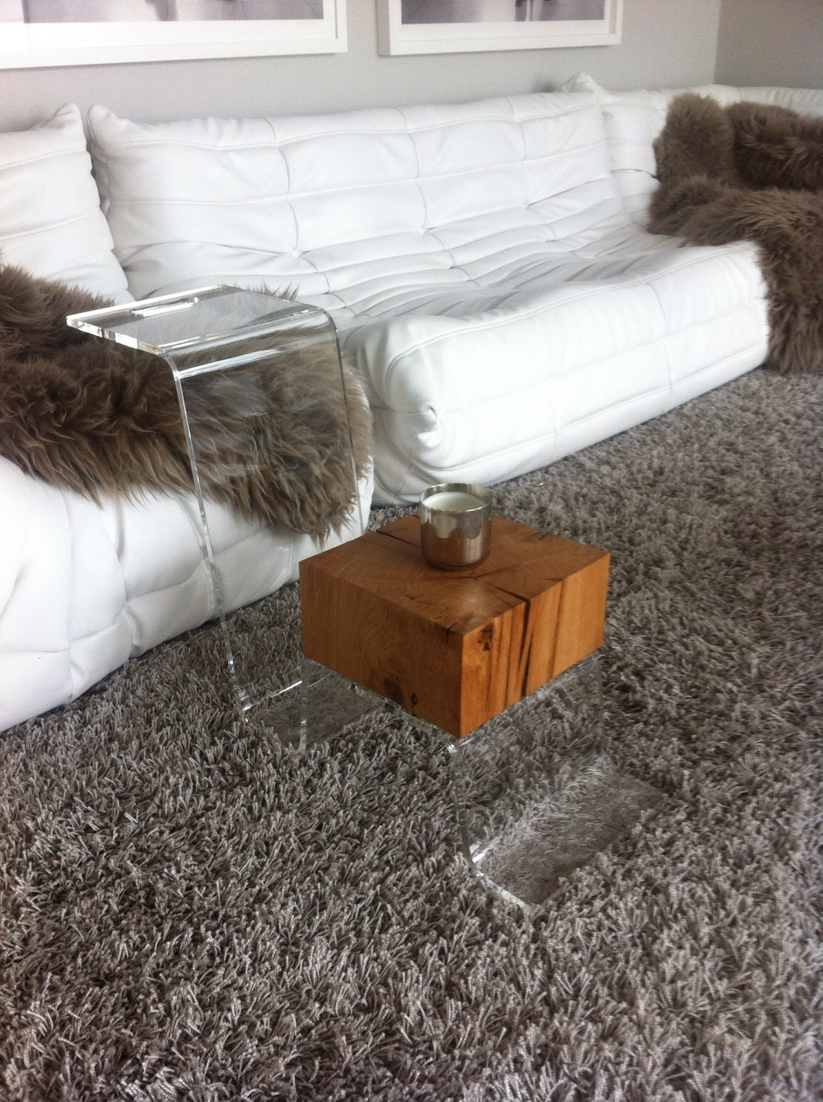 THE LINE PERSPEX Coffee Table - Pure Act of Modern Design