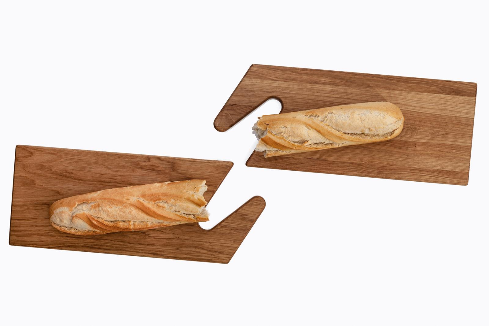 THE LINE Wooden Serving Boards